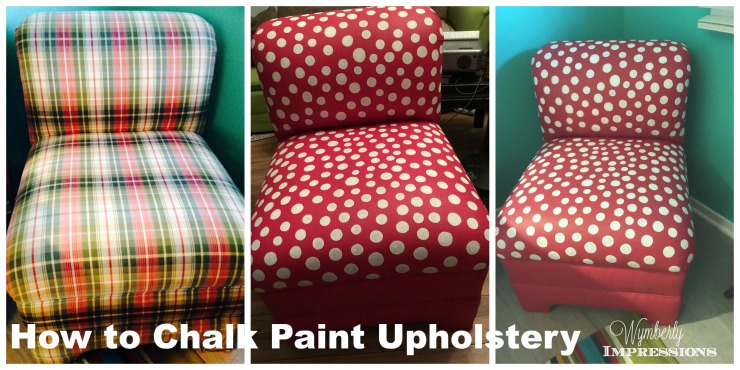 How to Chalk Paint Upholstery