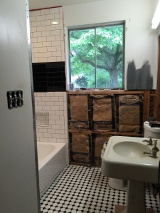 Our Mix-The-Old-In-With-The-New Guest Bathroom - The Homestead Kings